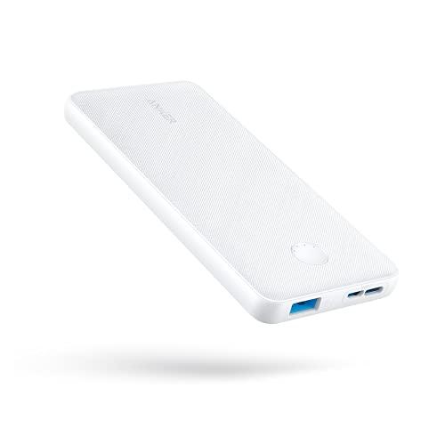 Anker PowerCore Slim 10000(モバイルバッテリー 大容量 薄型 10000mAh)【USB-C入力ポート/PSE技術基準適...