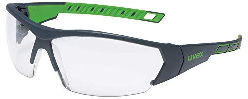 Uvex I-Works Schutzbrille - Suprav. Excellence - Schw.-Grün/Transparent