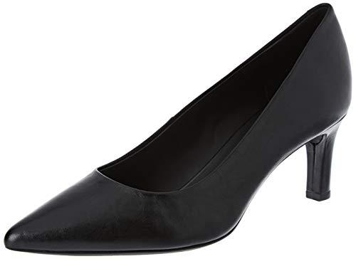 Geox D BIBBIANA A, Zapatos de Tacón Mujer, Negro (Black C9997), 36.5 EU