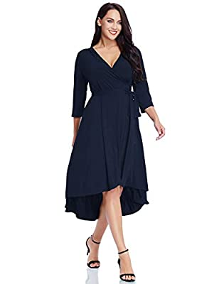 The solid black color looks perfect on any skin tone and also gives the illusion of a slimmer figure. The skater shape with a just-right high waist clearly presents the beauty of your body. The most eye-catching feature is the flared skirt cut in hi-...