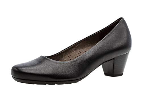 Gabor Femme Escarpins Classiques 32.120, Dame Chaussures á Talons,Chaussures habillées,Chaussures de soirée,Talons Hauts,Schwarz,38 EU / 5 UK