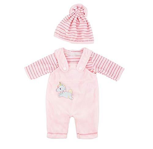 DUORUI Ropa de Muñeca Vestido de Tirantes Body para Muñeca New Born Baby Doll de 18 Pulgadas