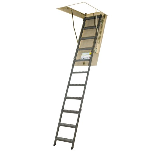 4. FAKRO OWM Metal Non-Insulated Attic Ladder