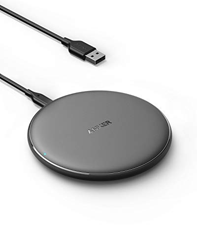 Anker Wireless Charger, PowerWave Pad Qi-Certified 10W Max for iPhone 12, 12 Mini, 12 Pro Max,…
