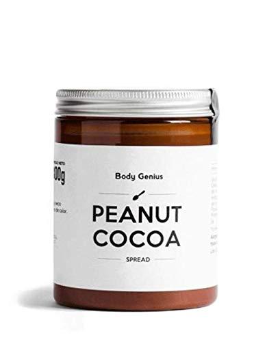 BODY GENIUS Peanut Cocoa. Crema de cacahuete y cacao. 300g.