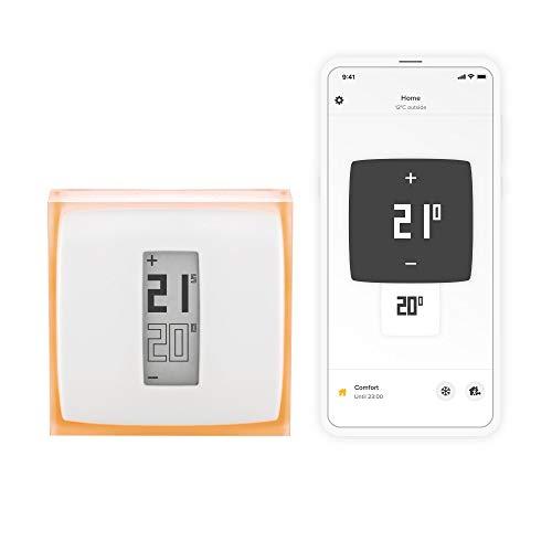 Netatmo Thermostat Connecté et Intelligent pour chaudière individuelle,...