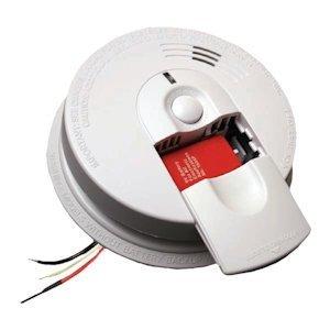 Firex/Kidde i5000 Hardwire Ionization Smoke Alarm with Battery Backup by Kidde
