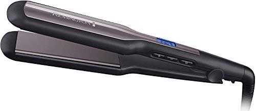 Remington Fer à Lisser, Lisseur , Plaques Flottantes XL, Température Variable, Lissage Facile, Chauffe Rapide - S5525