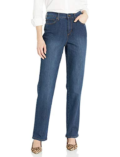 Gloria Vanderbilt Women's Classic Amanda High Rise Tapered Jean, Scottsdale Wash, 16