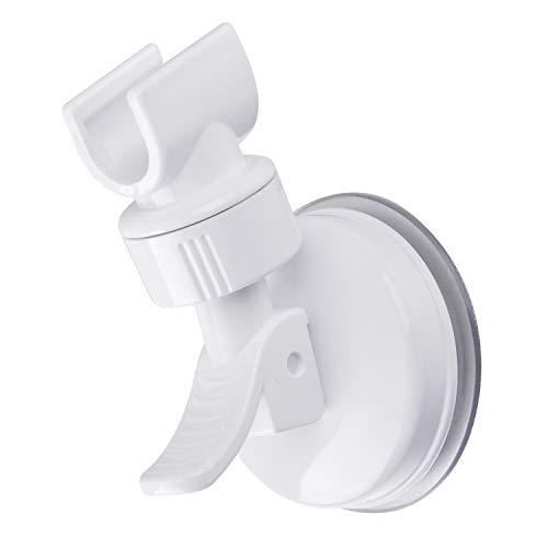 OUO Suction Cup Shower Head Holder Handheld Showerhead Bracket Adjustable Shower Holder, Removable Handheld Showerhead & Wall Mounted Suction Bracket