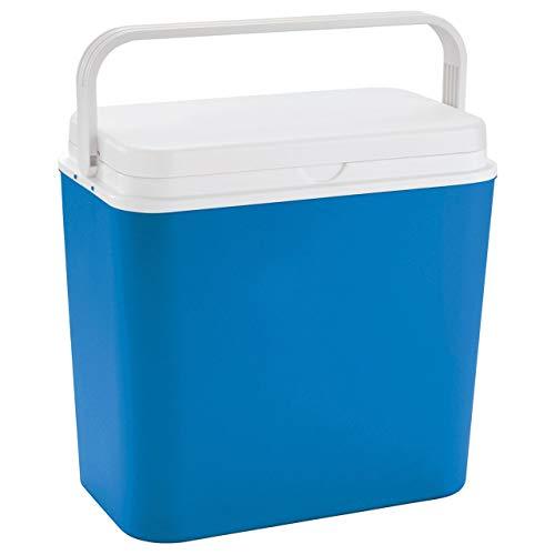 LINDER LEX Kühlbox Thermobox Warmhaltebox Picknick Camping 24 Liter Isolierbox bis zu 9 Stunden kühlung