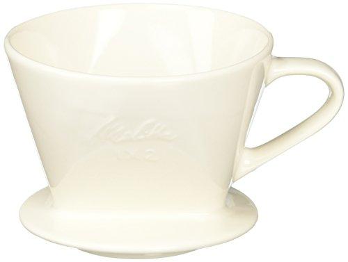 メリタ Melitta コーヒー ドリッパー 陶器製 2~4杯用 メジャースプーン付 陶器フィルターシリーズ SF-T 1×2...
