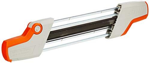 Stihl 56057504303 Porte-lime 2 en 1 pour chaîne de tronçonneuse 3/8' P Ø 4,0 mm