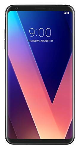 LG V30+ (Plus) 128GB Factory Unlocked GSM + CDMA Smartphone, Black (ATT, T-Mobile, Verizon, Sprint)