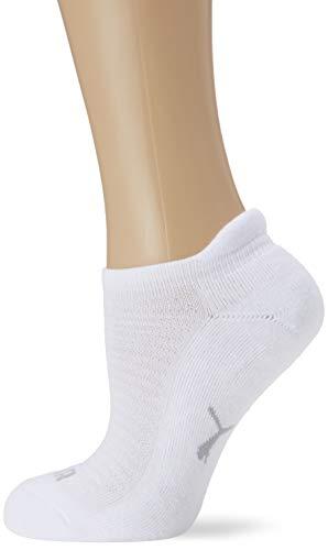 Puma Sneaker 2p Women Calze, Bianco (White 300), 35/38 (Taglia Produttore: 035) (Pacco da 2) Donna