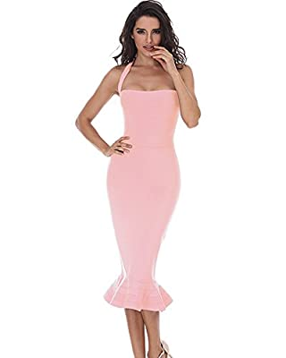 ♠Dear customer ,this dress had modified on zipper and neck strap .We add hook on the zipper and clip the neck strap .The length of neck strap is about 22.04 Inch . ♠Polyester 97.6%, Spandex 2.4%.Thick, Shiny , Very Stretchy And not Transparent. ♠Size...
