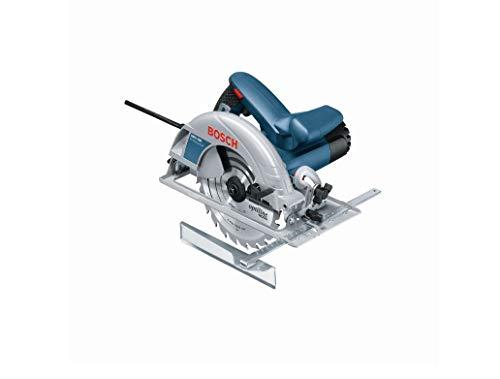 Bosch Professional 0601623000 Scie Circulaire GKS 190 (1400 W, Lame de Scie Circulaire : 190 mm, Profondeur de Coupe : 70 mm, in Carton) Bleu 25,4 cm