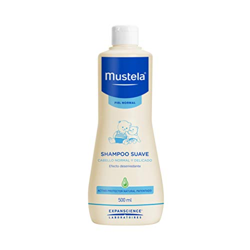 Shampoo suave cabello normal y delicado, piel normal, 500 ml.