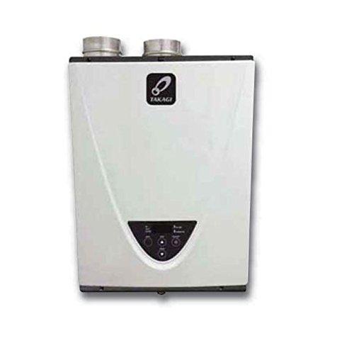 Takagi T-H3-DV-N Condensing High Efficiency Natural Gas Indoor Tankless...