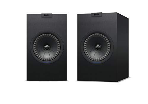 KEF Q350 Schwarz Lautsprecher Paar, HiFi | Heimkino | Regallautsprecher | Boxen | Stereo | High End | 2-Wege
