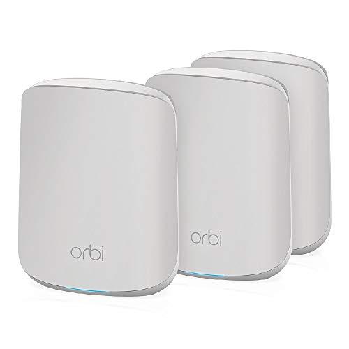 NETGEAR Orbi Mesh WiFi 6 RBK353, Router WiFi 6 + 2...