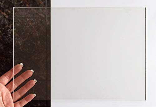 Placa de Metacrilato Transparente 3 mm   Plancha de Acrílico Incoloro   Lámina de Plástico   14,8x21 cm   21x29,7 cm   29,7x42 cm (1 UD, 59,4x42 cm)