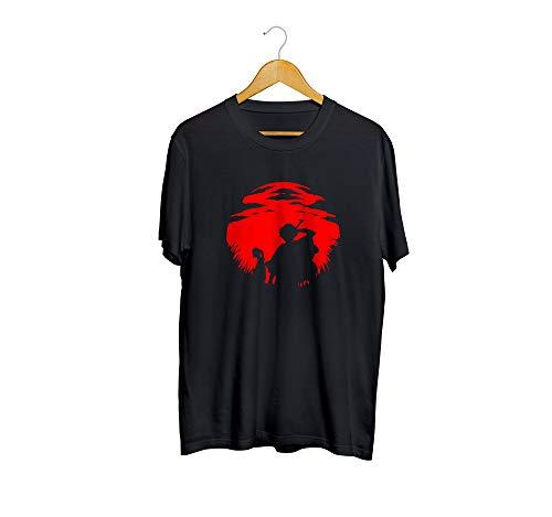 Camiseta camisa bleach masculino preto tamanho:m