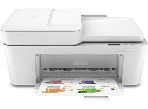 HP DeskJet Plus 4120 3XV14B Stampante Multifunzione, Stampa, Scansiona, Copia, formato A4, Fax da...