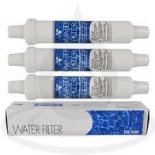 DD-7098 Water Filter | Pacco da 4 - Filtro acqua esterno per frigoriferi compatibile con Daewoo, Bosch, Siemens, Neff,...