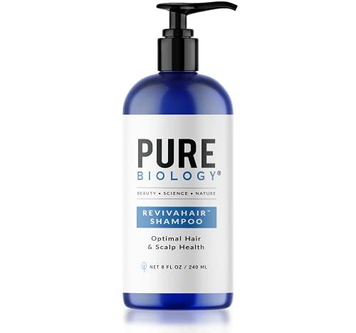 Pure Biology Premium RevivaHair Hair Growth Shampoo | Biotin Shampoo...