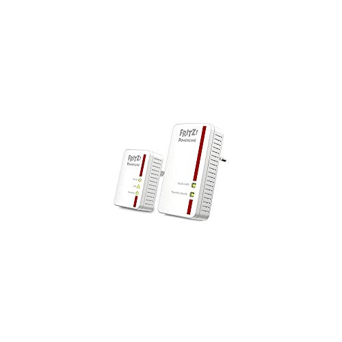 AVM FRITZ! Powerline Kit di 2 Adattatori (510E e 540E) Wireless 300N