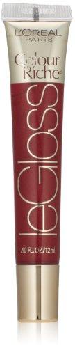 L'Oral Paris Colour Riche Le Gloss, Blushing Berry, 0.4 fl. oz.