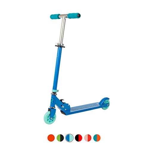 Retrospec Ripper-200 2-Wheel Kick Scooter for Kids, Girls and Boys with Padded Handlebars, PU Wheels, and Grippy Deck Perfect for Children, Royal Blue