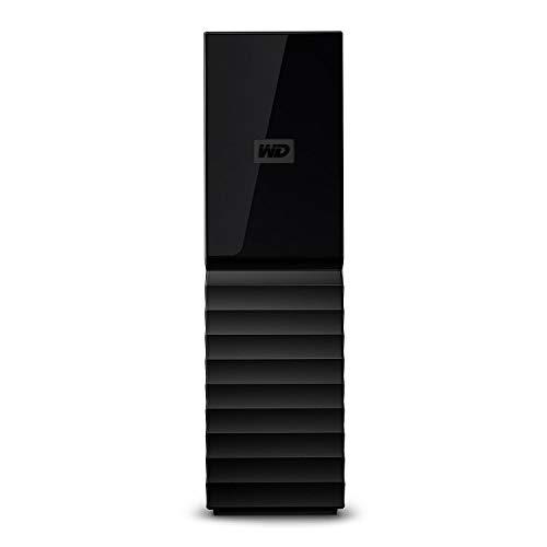 Western Digital WD My Book Hard Disk Desktop USB 3.0, Software di Backup Automatico, Protezione con...