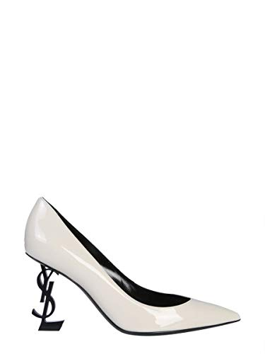 Saint Laurent Decolleté Donna 4841600Npvv1607 Pelle Bianco