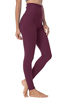 ❤[Update] new fabric and seamless waist: https://www.amazon.com/dp/B07X347JP5?ref=myi_title_dp❤[Tummy Control] High-Rise keeps you feeling covered and secure. Also it lies flat to your skin and won't dig in. ❤[Fabric] Sports leggings use four-way str...