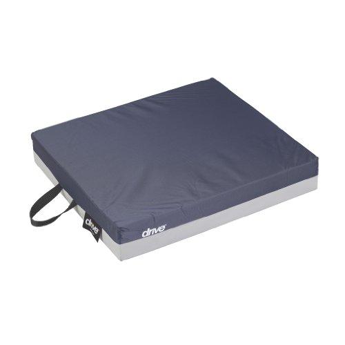 Drive Medical 14886 Skin Protection Gel 'E' Wheelchair Seat Cushion, 18 x 16 x 3