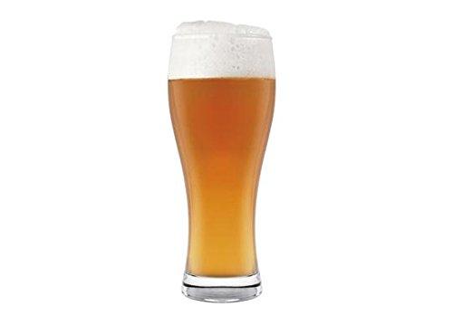 H&H 68/4261 Weizen, Confezione 6 Bicchieri Birra, Vetro, 33 Cl, 6 Unit