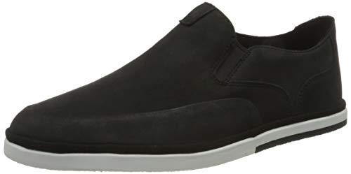 Rockport Austyn Slipon Summer Shoe, Alpargatas Hombre, Negro 001, 43 EU