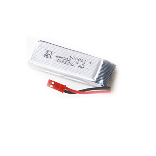 TwoCC Batteria LiPo 1P 3.7V 900Mah ad alta capacit per 8807W Pocket Drone Selfie Fold