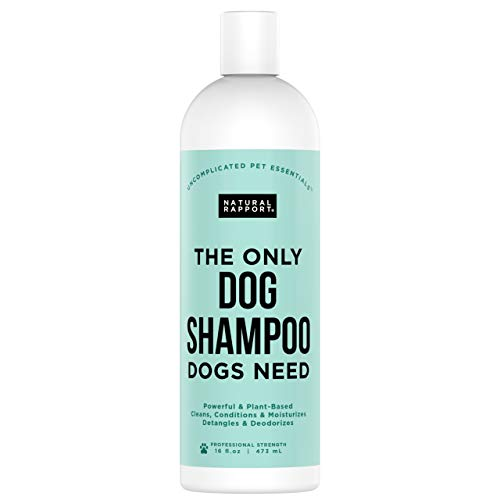 Natural Rapport Pet and Dog Shampoo - The Only Dog...