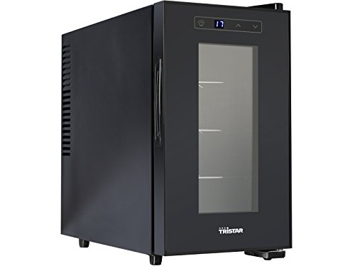 Tristar Cantinetta per Vino WR-7508 frigo, 70 W, 21 Litri, Metallo, Nero