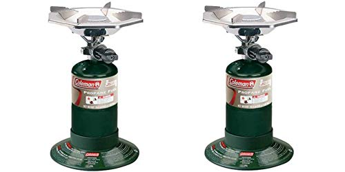 Coleman Portable Propane Burner Bottle Top Stove/Set of 2