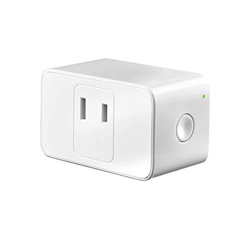 WIFIスマートプラグ Meross スマートコンセント ハブ不要 スイッチ 無線リモコン ソケット ワイヤレス Alexa/Google Home/IFTTT対応 電源制御 遠隔操作 日本語の説明書付き(1個入り)