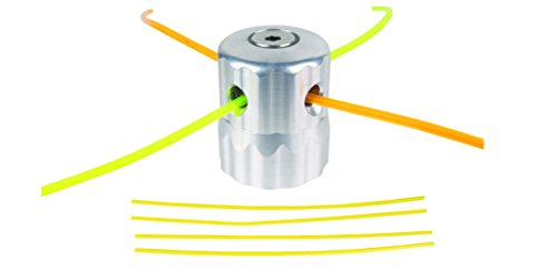LG Motors - Testina Filo Prato Alluminio Trimmer Per Decespugliatore Nylo Bobina Filo Tosaerba