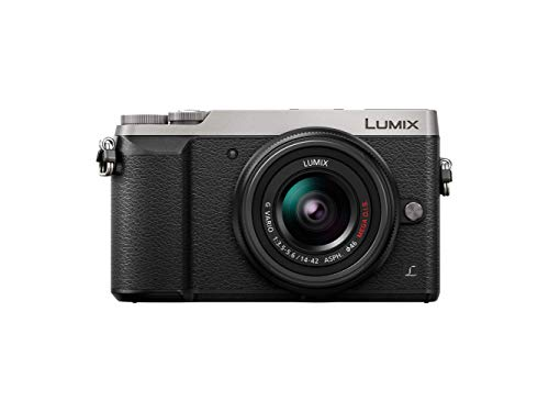 Panasonic Lumix Appareil Photo Hybride Compact DMC-GX80NEFS +Lumix 14-42 F3.5-5.6 (Capteur 4/3 16MP, Double Stab, Viseur, Écran inclin. tact, AF DFD, Vidéo 4K) Gris – Version Française