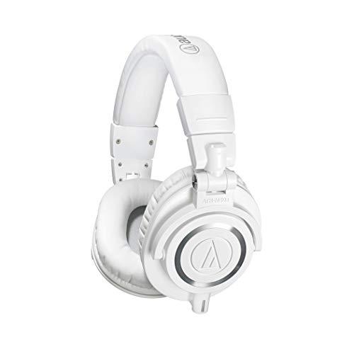 Audio Technica Pro ATH-M50XWH Cuffie Monitor Professionali, Bianco