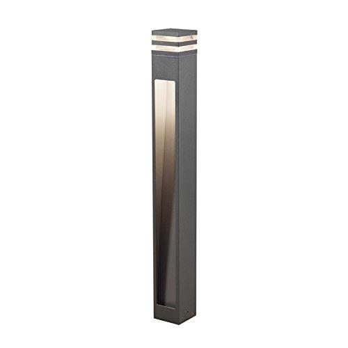 Gnosjö Konstsmide Wegeleuchten, Aluminium, Integriert, anthrazit, 11 x 11 x 100 cm