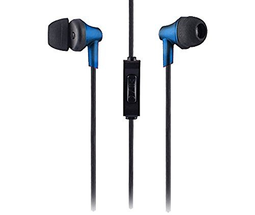 Sound One 616 in Ear Earphones with Mic,Blue