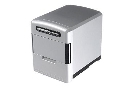Trebs, macchina per cubetti di ghiaccio con cassetto staccabile, include misurino e paletta per...